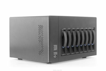 S Solutions ST8 Pro NAS+iSCSI Unified Storage 8-bay 中小企業、SOHO、家庭個人最佳網路儲存系統