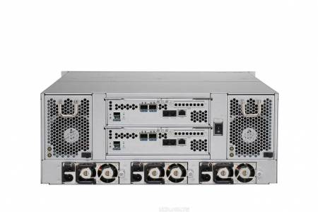 S Solutions SRD4I24S10/R10 4U 24-bay 2/4 ports 10G Single/Dual Controller企業級 4U 24-bay 10G單雙控磁碟陣列
